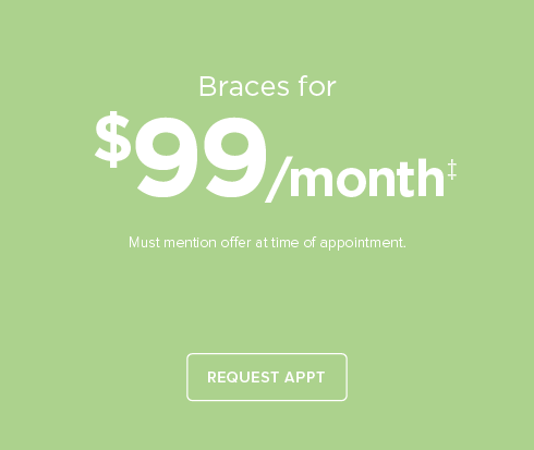 Round Rock Dentists-$99/month braces
